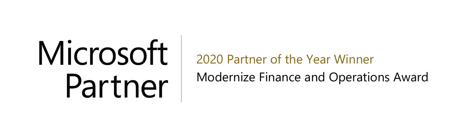 2020 ERP Partner Of The Year Award