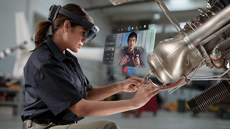 Augmented reality in field service