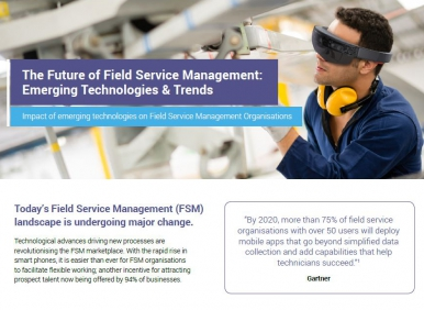Field Service Infographic Image