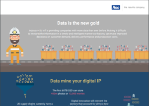 Data Is The New Gold Infographic Cover