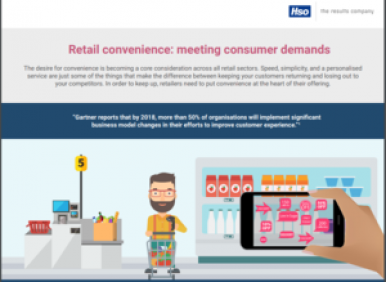 Retail convenience Infographic Cover