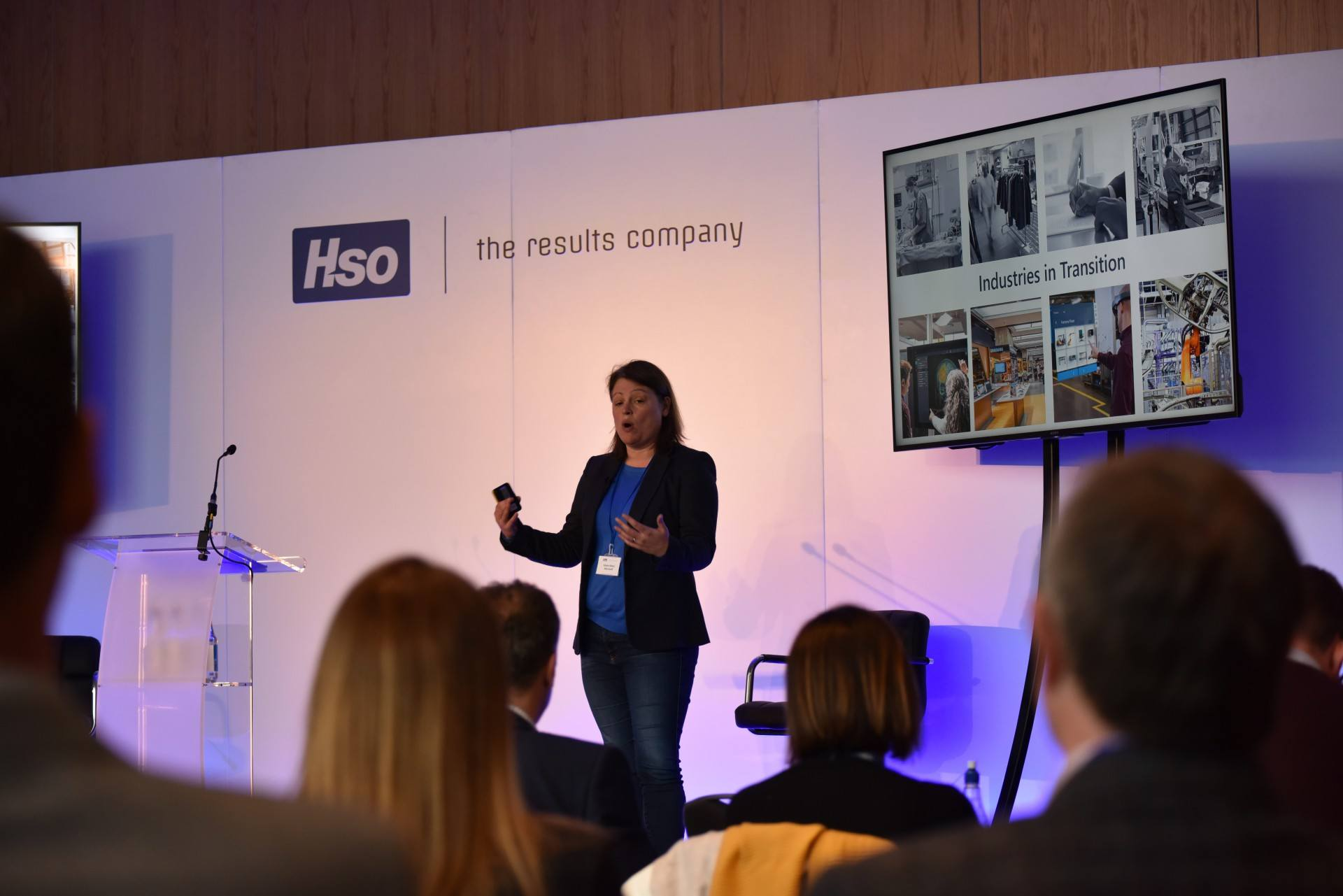 Marie Abery at HSO customer day