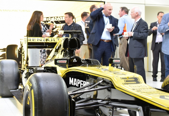 Renault F1 car at HSO future of tech event