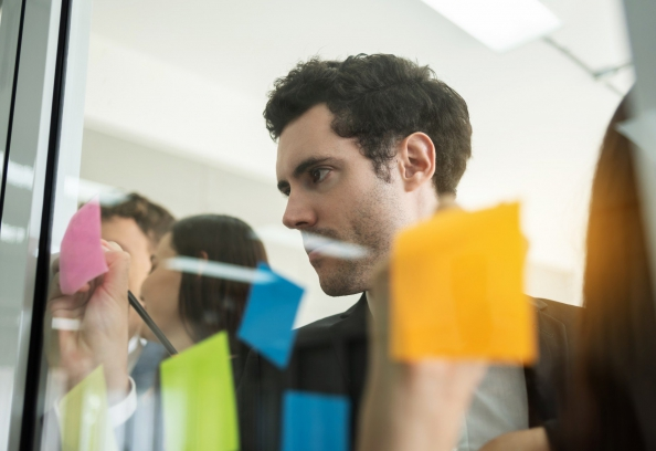 Van whiteboard en post-its naar Planner & Teams