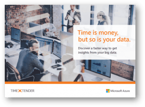 Time Is Money, But So Is Your Data