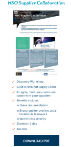 HSO Offerings Supplier Collaboration