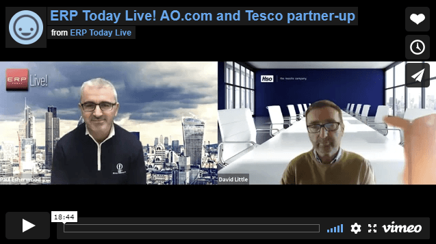 ERP today and HSO MD David Little