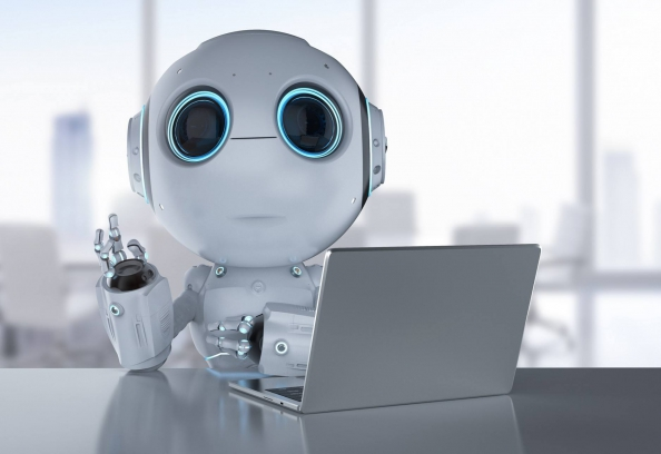 robot accounting power apps