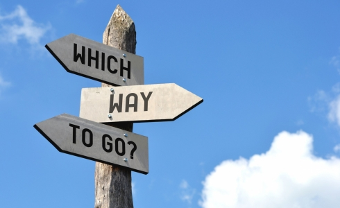 Where To Go Signs